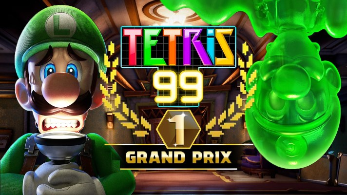 Tetris 99 is getting a spooky Grand Prix