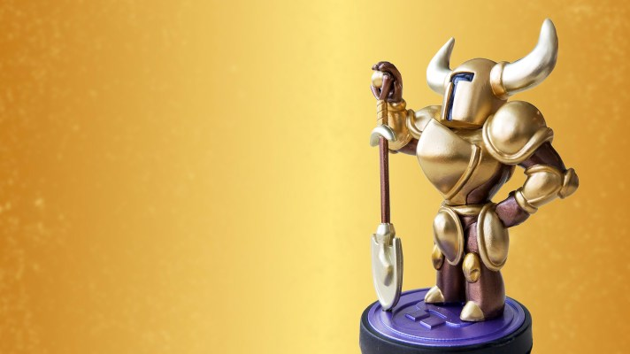 The Gold Shovel Knight amiibo is once again available to preorder in Australia (Update: Gone)