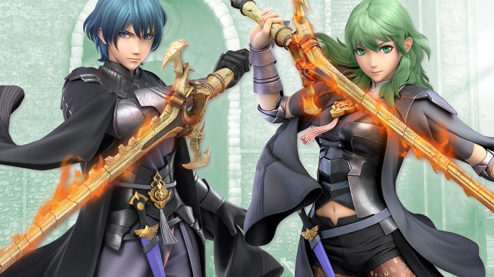 Byleth is the fifth Super Smash Bros. Ultimate DLC character
