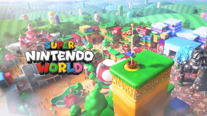 Super Nintendo World is looking amazing