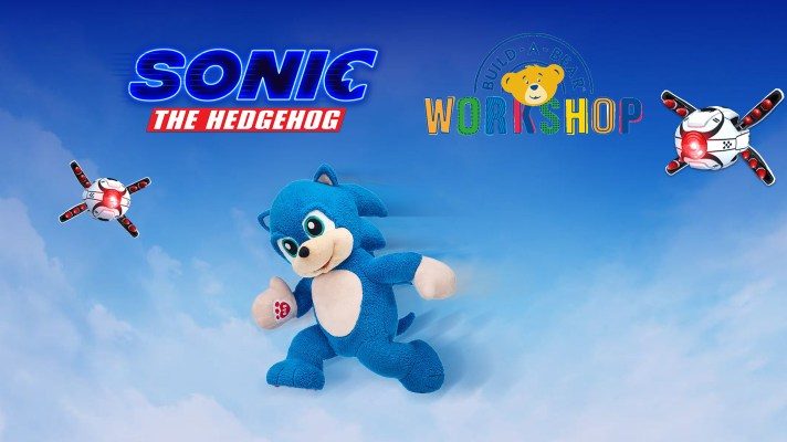 Sonic dashes into Build-a-Bear Workshop