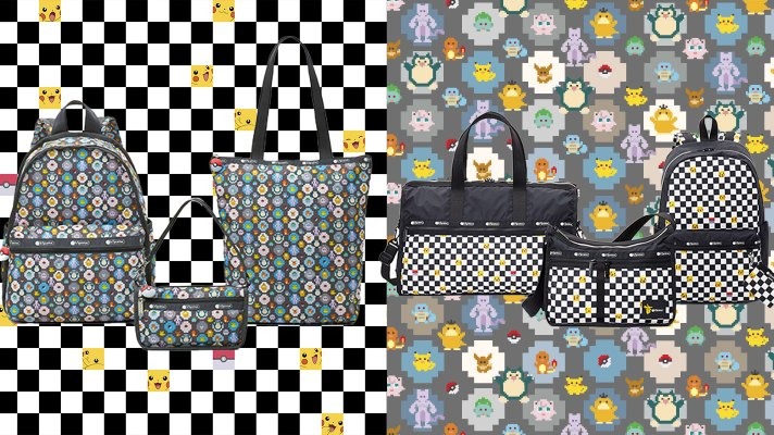 Pokemon is teaming up with world bag brand LeSportsac
