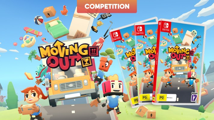 Competition: Three copies of Moving Out on Switch to giveaway!
