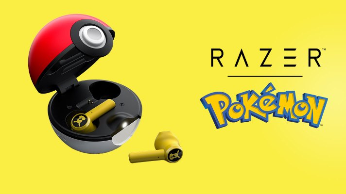 Razer are making Pikachu themed earbuds