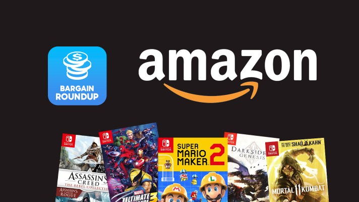 Bargain Roundup: Amazon has a small amount of  Switch games on sale