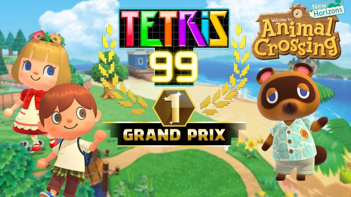 Tetris 99 is getting an Animal Crossing themed Grand Prix