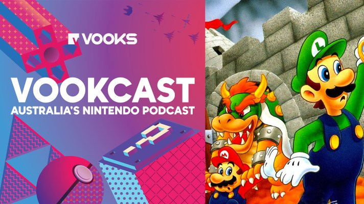 Vookcast 186: Mario is Missing (from the Summer Game Fest)!