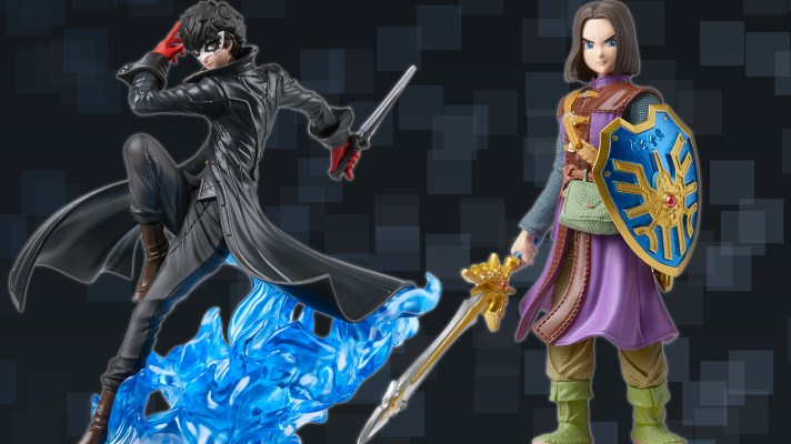 Persona's Joker and Dragon Quest's Hero are getting an amiibo