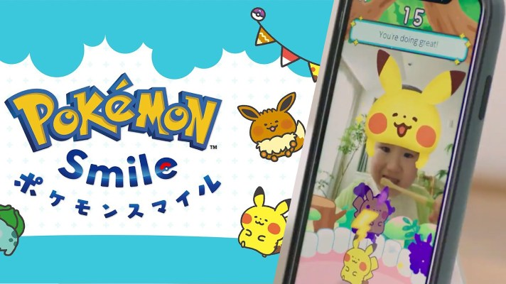 Pokemon Smile aims to help your kids brush their teeth better