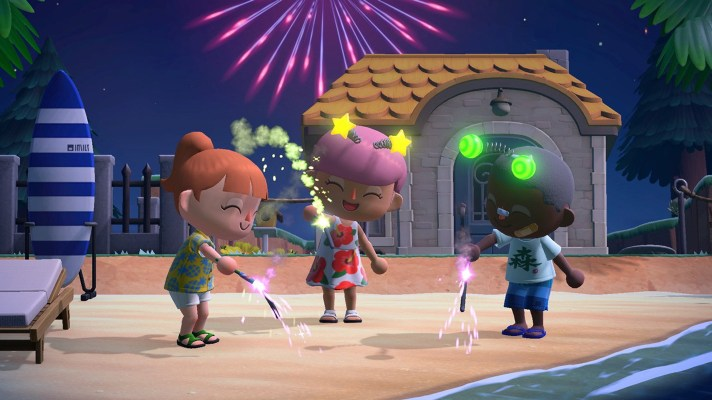 Animal Crossing New Horizons gets Island Backup, Dreaming, and fireworks later this week