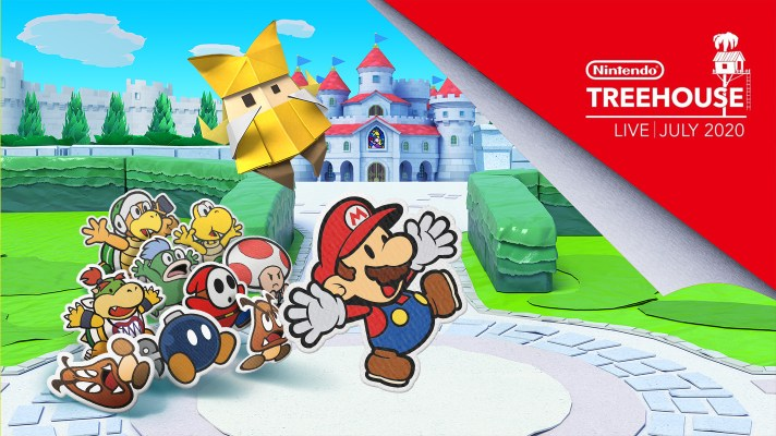 Treehouse Live is back, but just for Paper Mario The Origami King