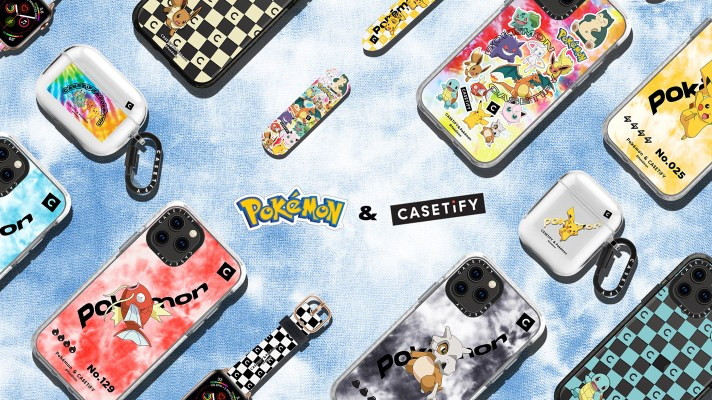 Casetify is back with a new range of Pokémon phone cases, watch bands and more
