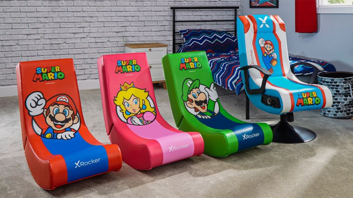X Rocker announces Super Mario themed chairs coming August 1st
