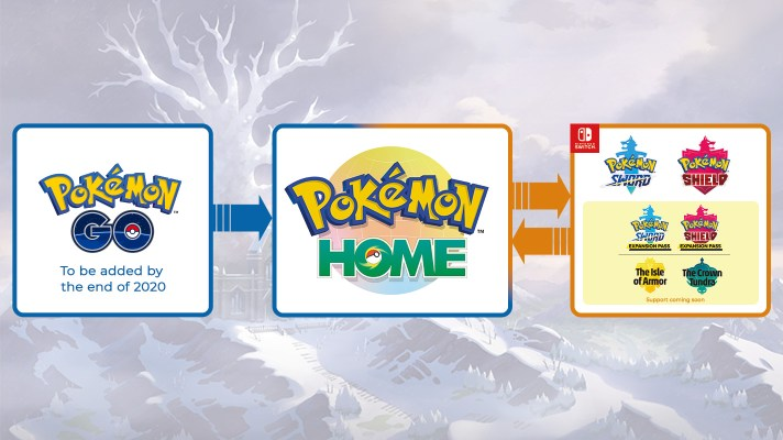 "Pokémon GO to Home transfers coming ""within the year"""