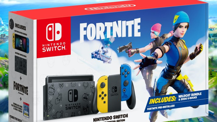 Fortnite Special Edition Nintendo Switch console coming this November