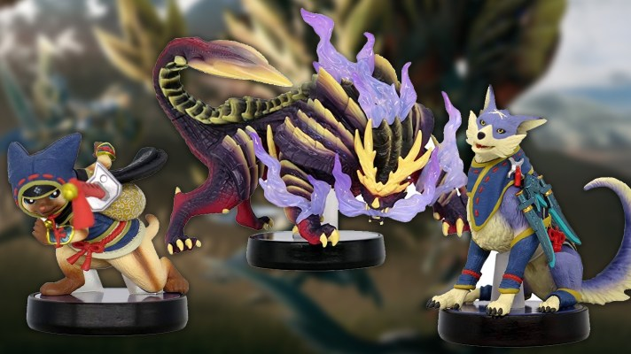 First shots of the Monster Hunter Rise amiibo revealed