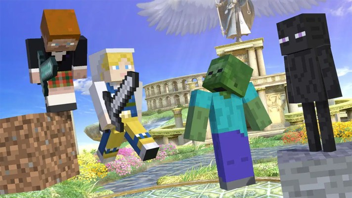Smash Bros. Ultimate gets its Minecraft rep(s) on October 14th