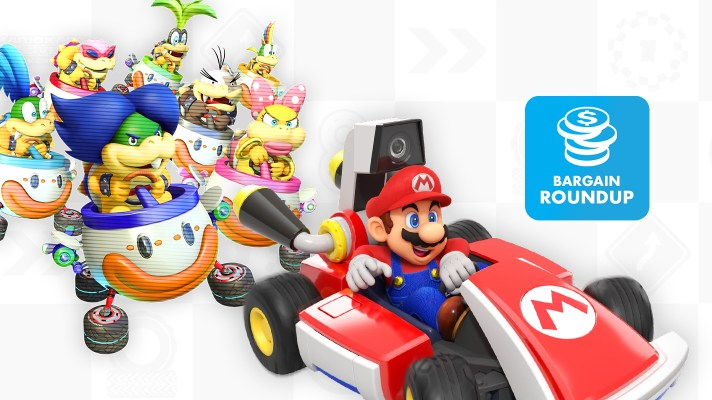 Aussie Bargain Roundup: Mario Kart Live: Home Circuit