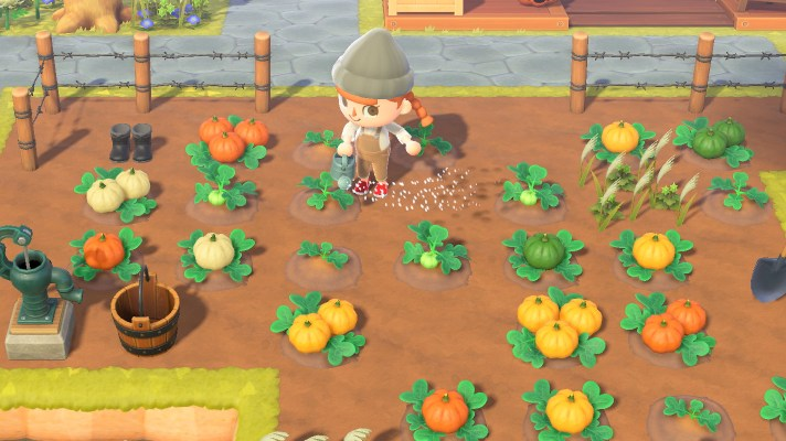Animal Crossing New Horizons receives minor pumpkin patch (v1.5.1)
