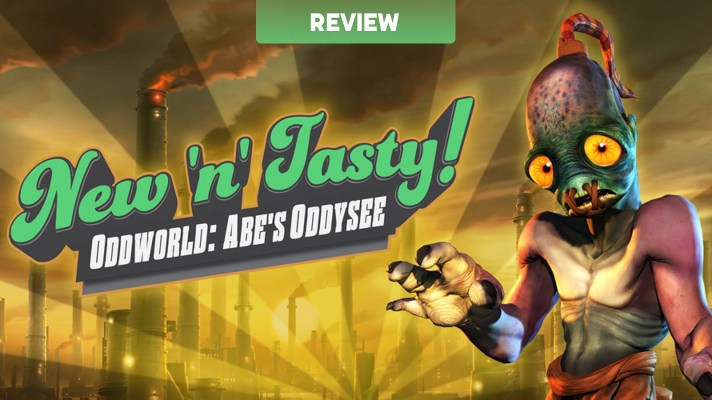 Oddworld: New 'n' Tasty (Switch) Review