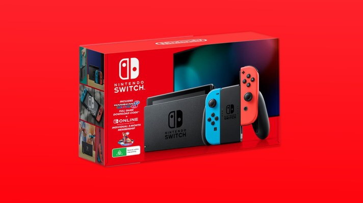 Nintendo offers Switch + Mario Kart 8 Deluxe bundle again for Black Friday