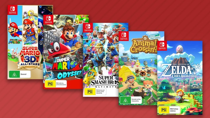 Bargain Alert: Selected Nintendo Switch Games 2 for $110 at Amazon