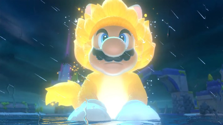 Cat Mario goes Super Saiyan in an insane new trailer for Super Mario 3D World + Bowser's Fury