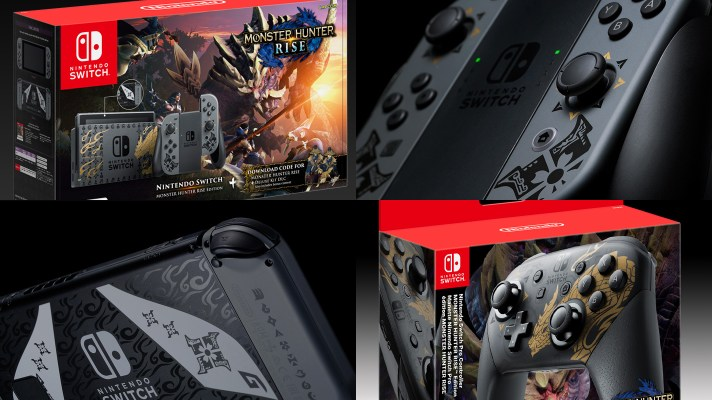 Monster Hunter Rise Limited Edition console, Pro Controller coming to Australia