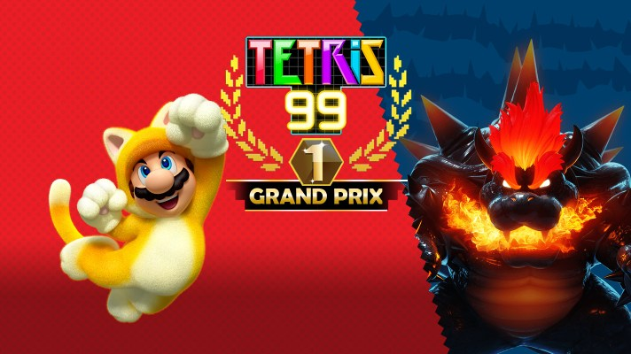Tetris 99 is getting furious with the Super Mario 3D World + Bowser's Fury Grand Prix