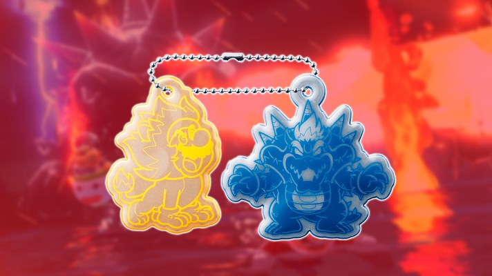 Bowser's Fury reflective keychain reward added to the My Nintendo Store