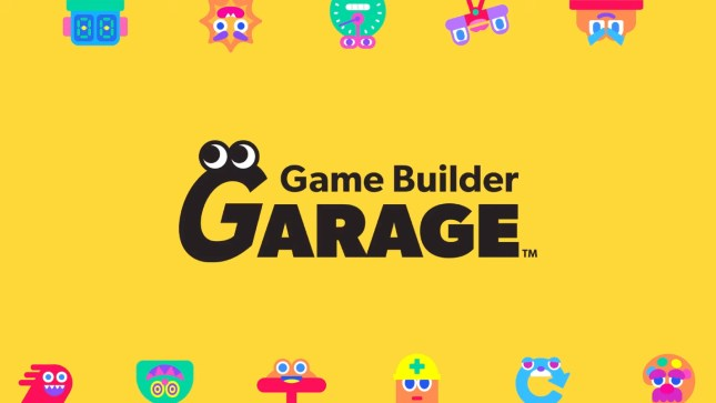 Nintendo's Game Builder Garage lets you build your own Switch games