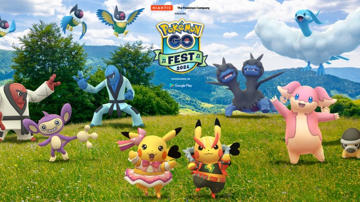 Pokémon GO Fest is back, and in 2021 it's a music festival