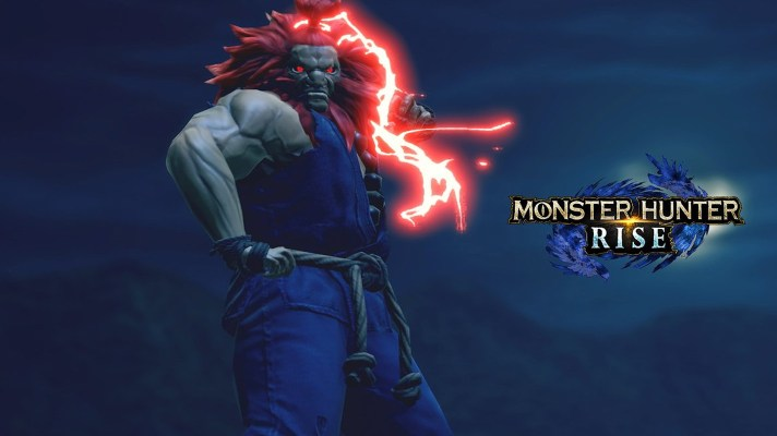 Street Fighter's Akuma comes to Monster Hunter Rise this week