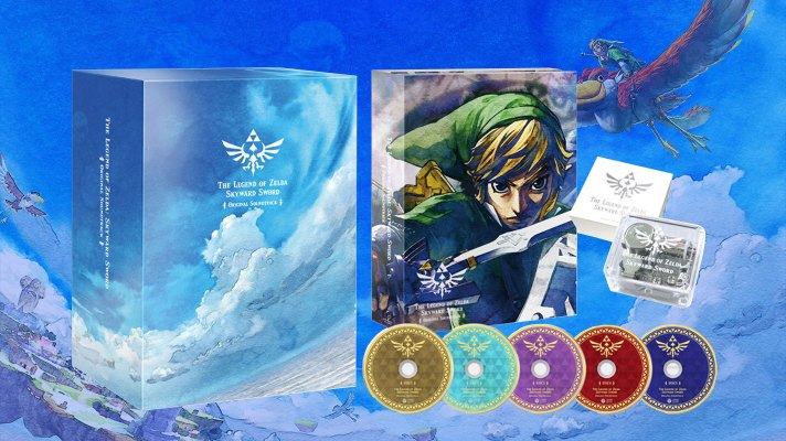 Skyward Sword getting adorable music box and 5-disc soundtrack in Japan
