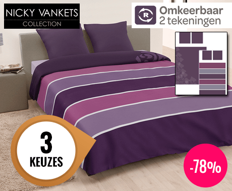 Nicky Vankets Home Collection Luxe Dekbedovertrek 2