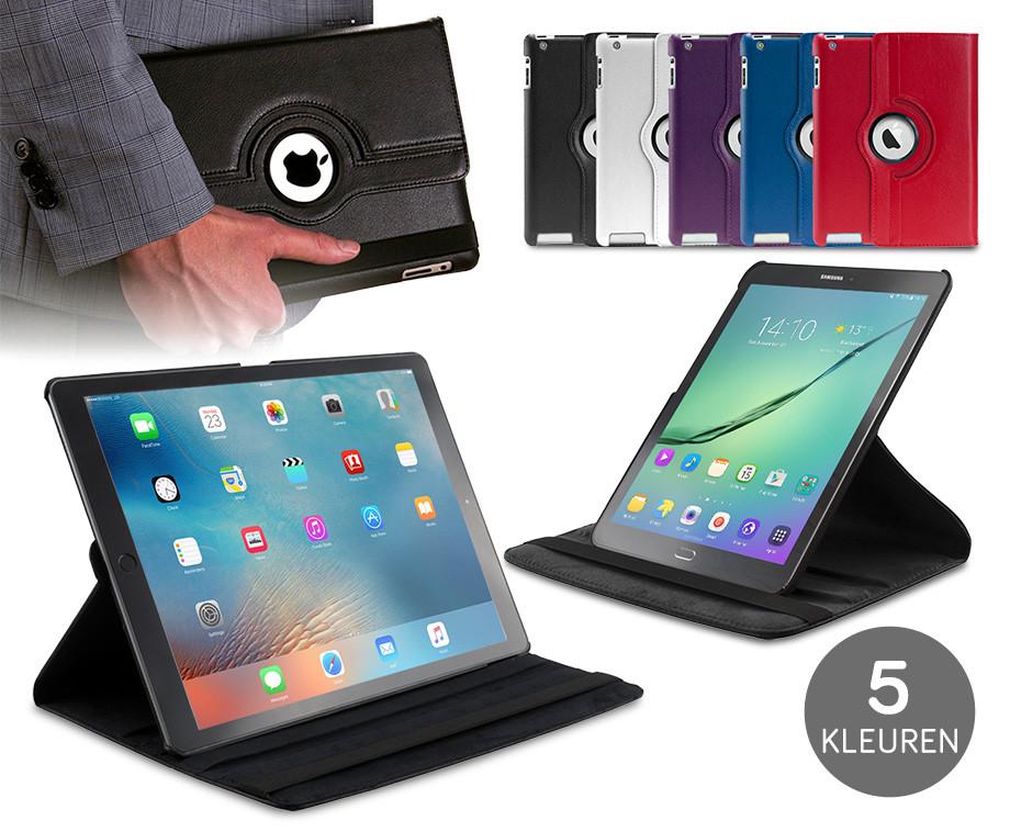Roterende Tablet Case - Geschikt Voor Apple Of Samsung Tablets!