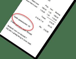 spaarpuntensysteem, spaarpunten kassa, spaarpunten programma, spaarsysteem