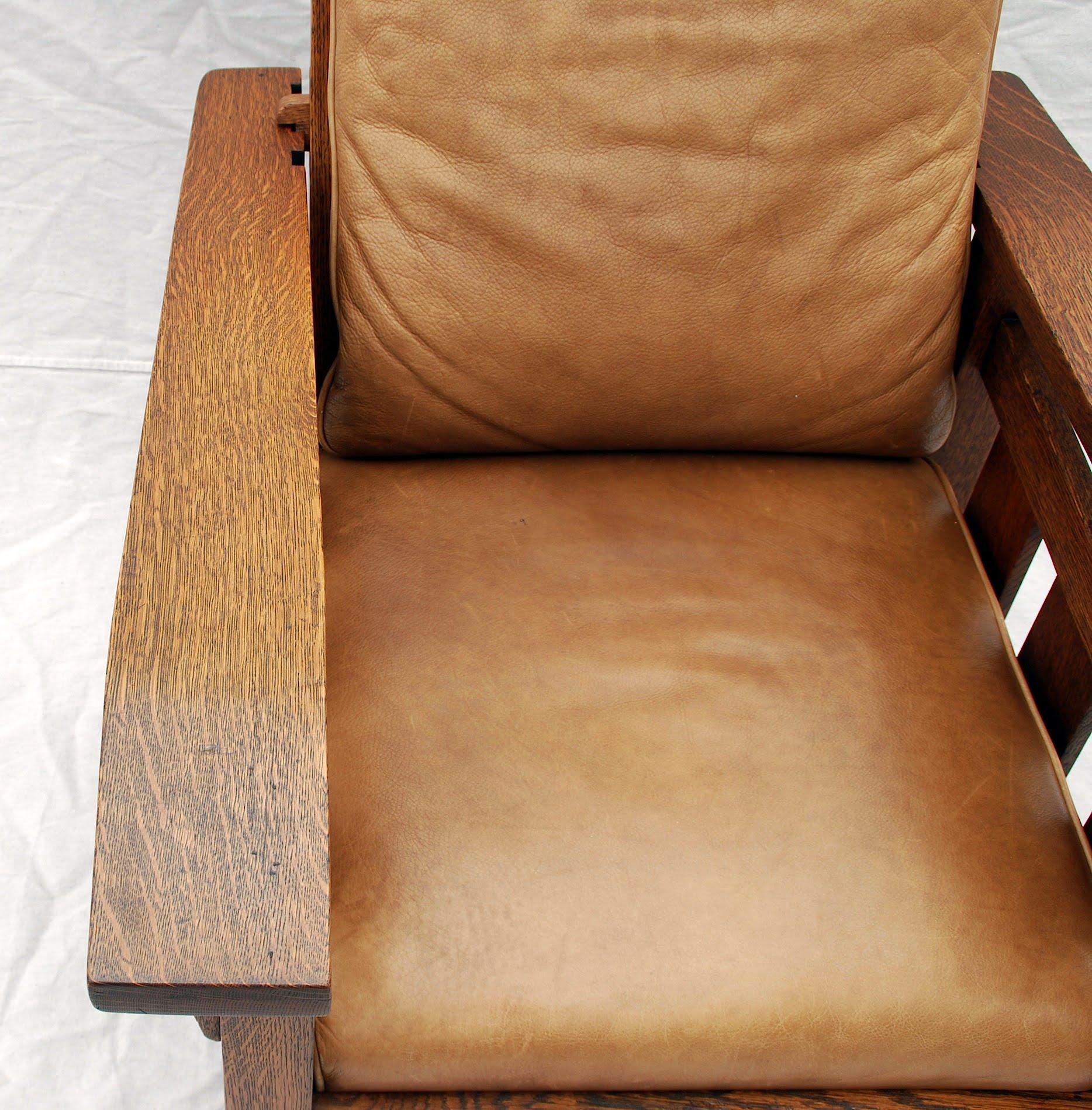 Voorhees Craftsman Mission Oak Furniture Stickley Era