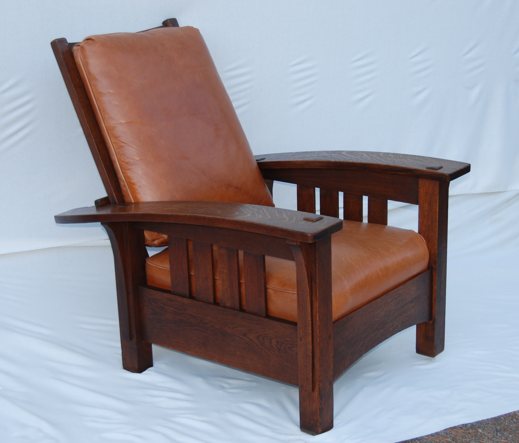 Voorhees Craftsman Mission Oak Furniture  Original Rare L