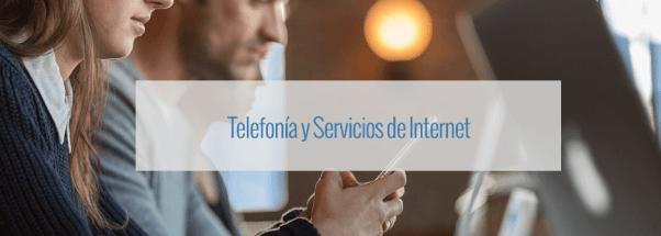 Cupones de descuento para Telefonía y servicios de Internet