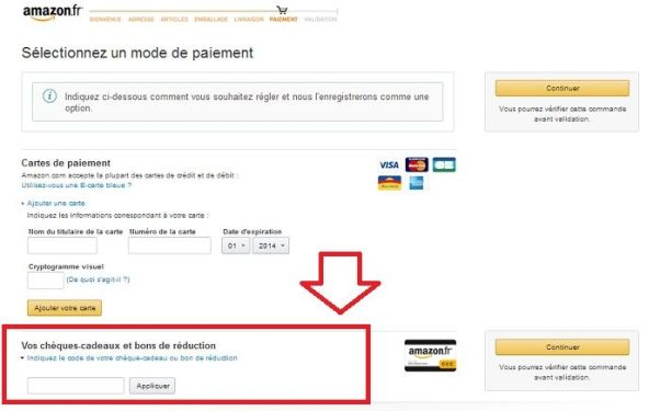 réduction Amazon