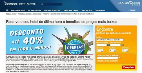 Oferta AccorHotels.com