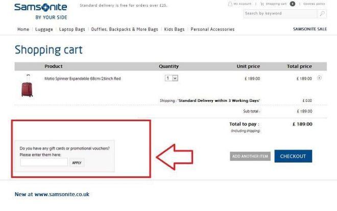 samsonite.co.uk
