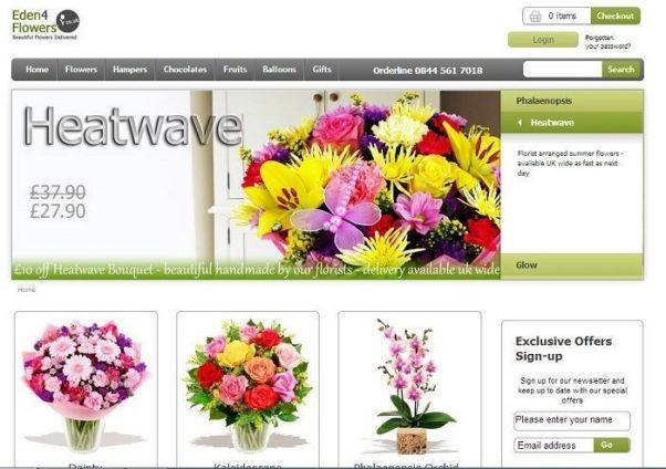 eden4flowers.co.uk