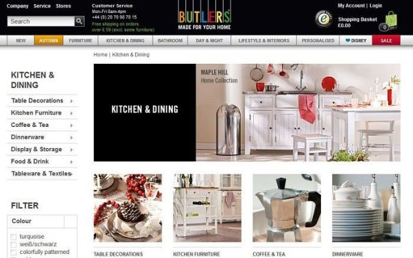 Butlers discount
