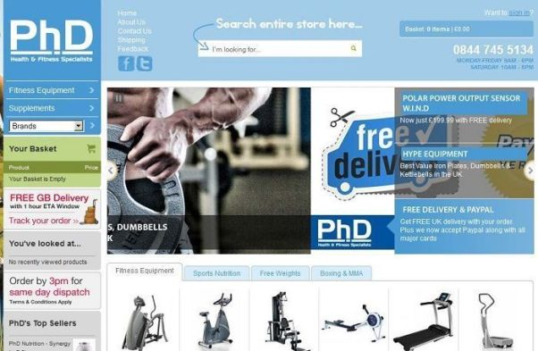 phd- fitness discount