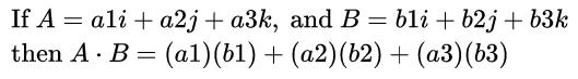 dot product formula 2