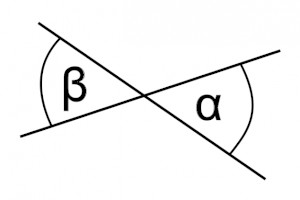 pair of vertical angles