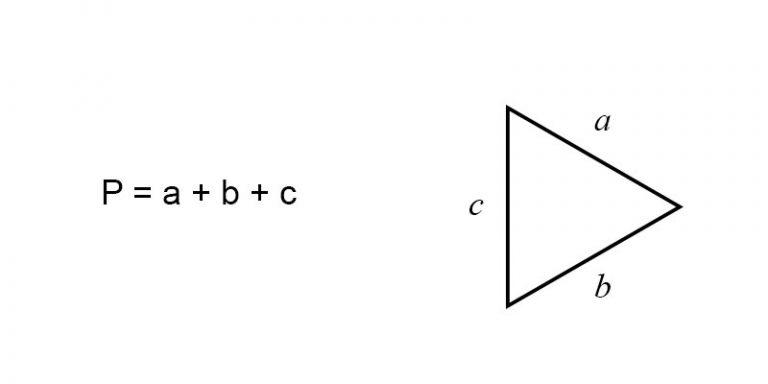 perimeter of a triangle