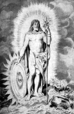 Balder, MITOS Y LEYENDAS NÓRDICAS, Odin - La Mitología Nórdica